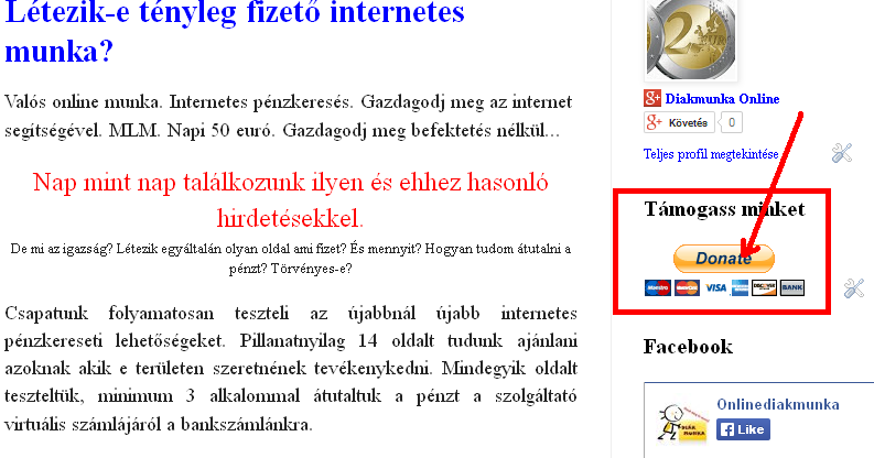 törvényes-e pénzt keresni az interneten?)