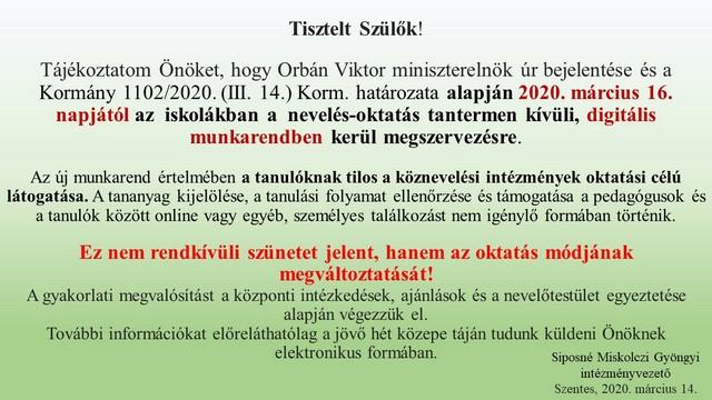 további jövedelemmentes munkarend)