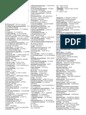 bináris szótár által)