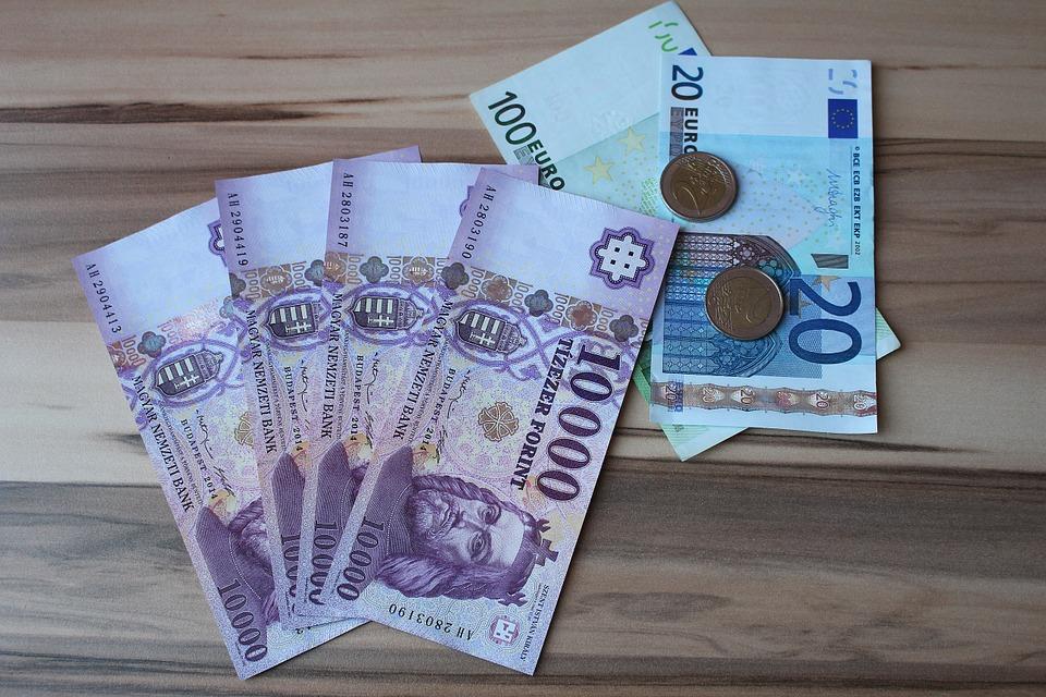 euró opciós ár