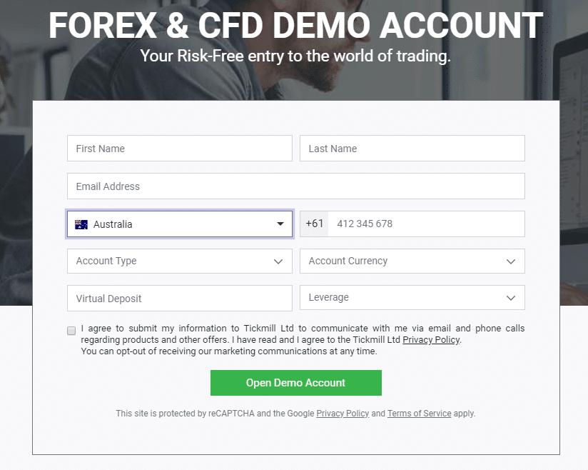 XTB demo számla - A megnyitás ilyen egyszerű