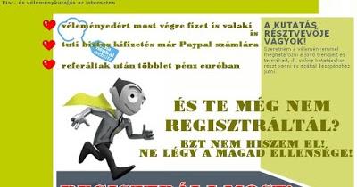 pénzt kereshet a semmiből online)
