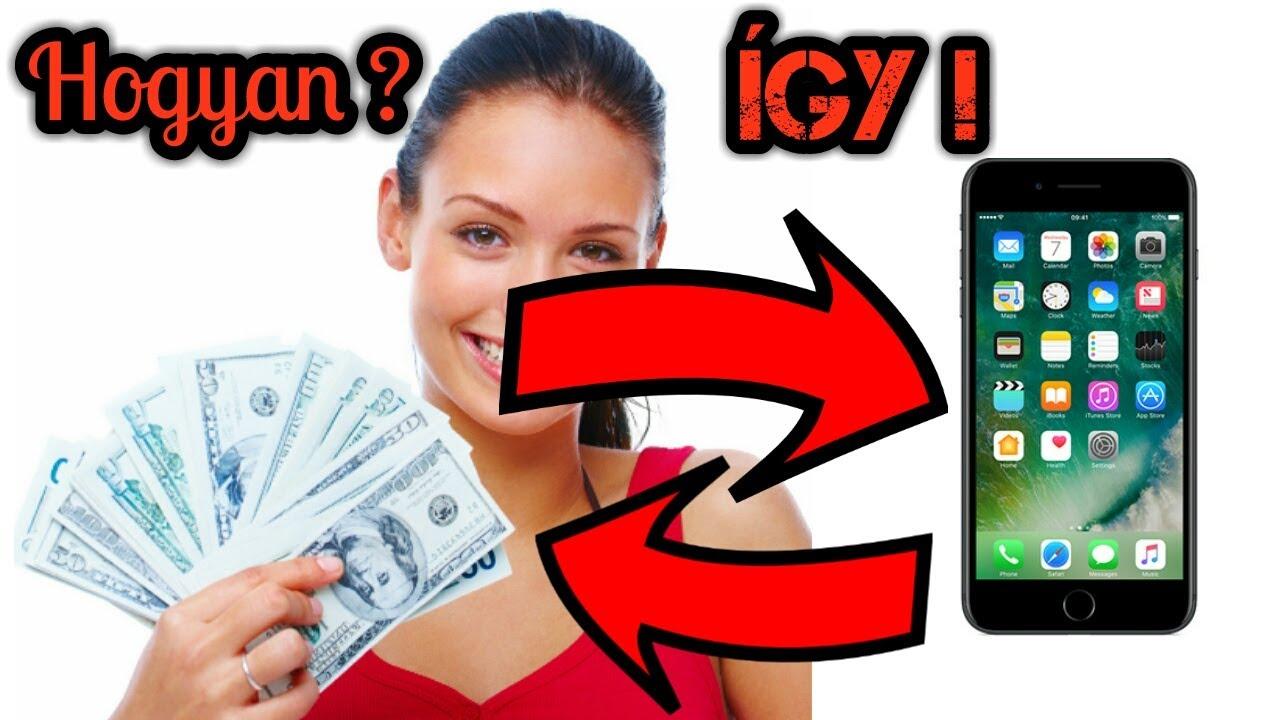 pénzt keresni a mobil videó segítségével