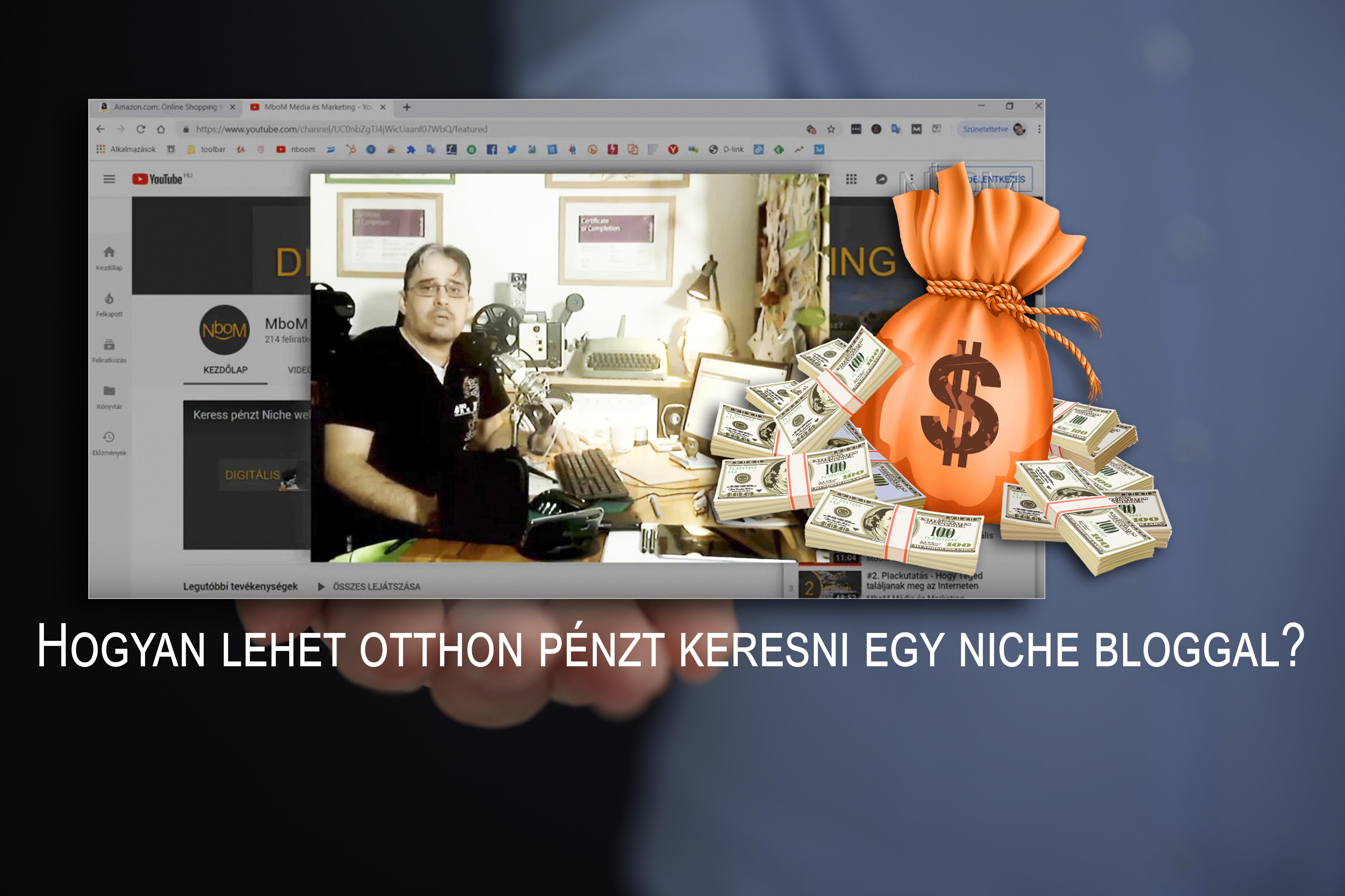 pénzt keresni az interneten a program használatával