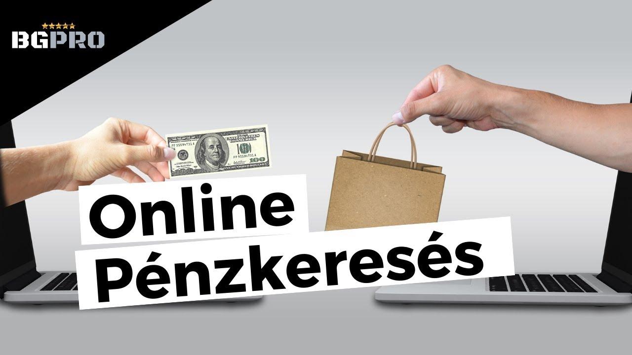 pénzt keresni online bináris opciókkal