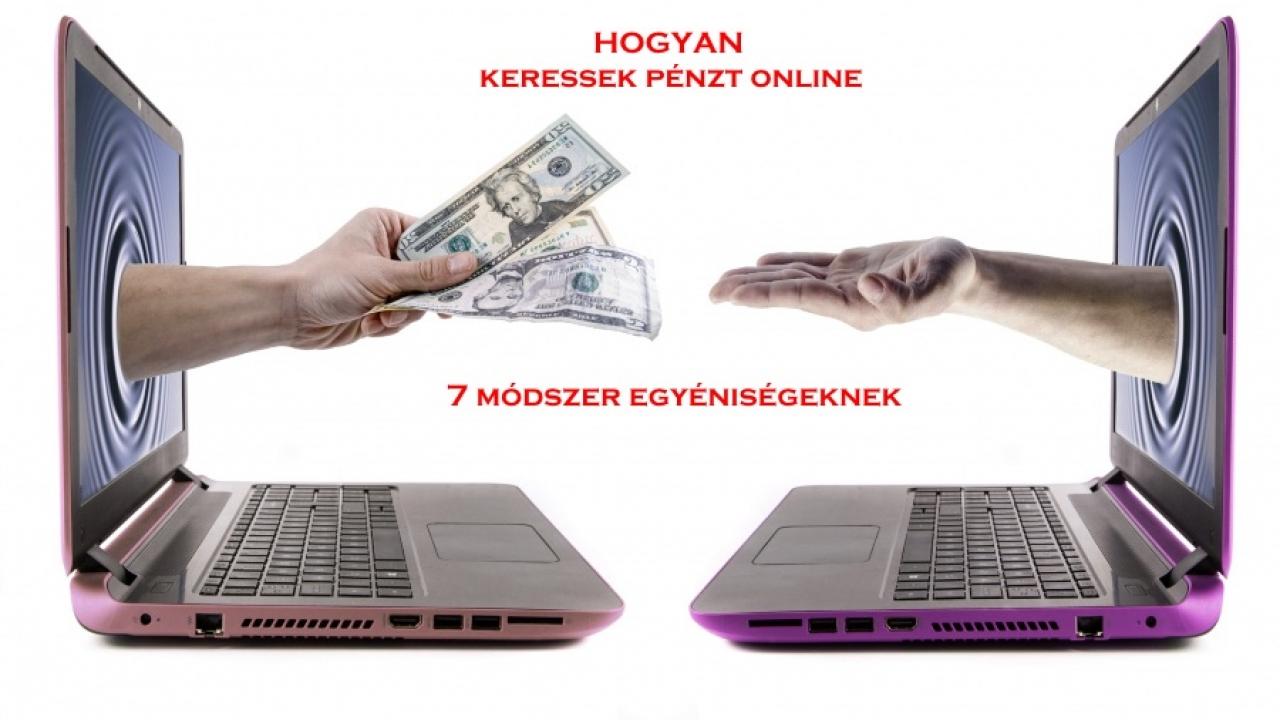 hogyan lehet pénzt keresni az interneten, sírtam)