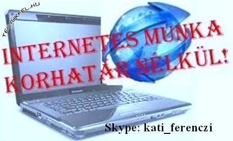 kereset az interneten keresztül valós munka