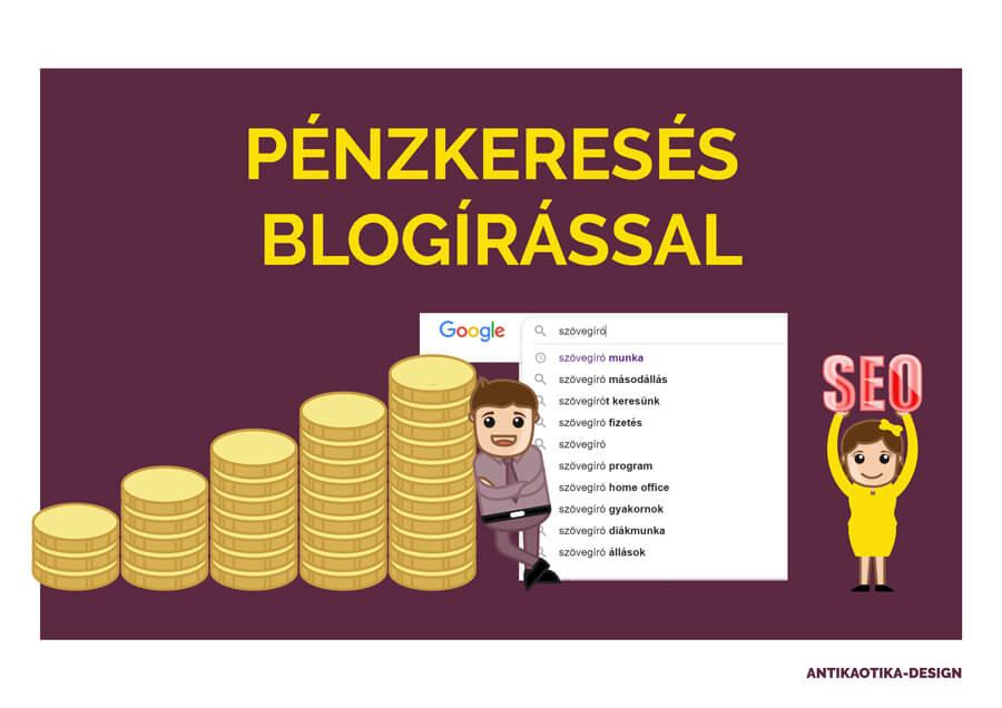 weboldalon keresztül lehet pénzt keresni)