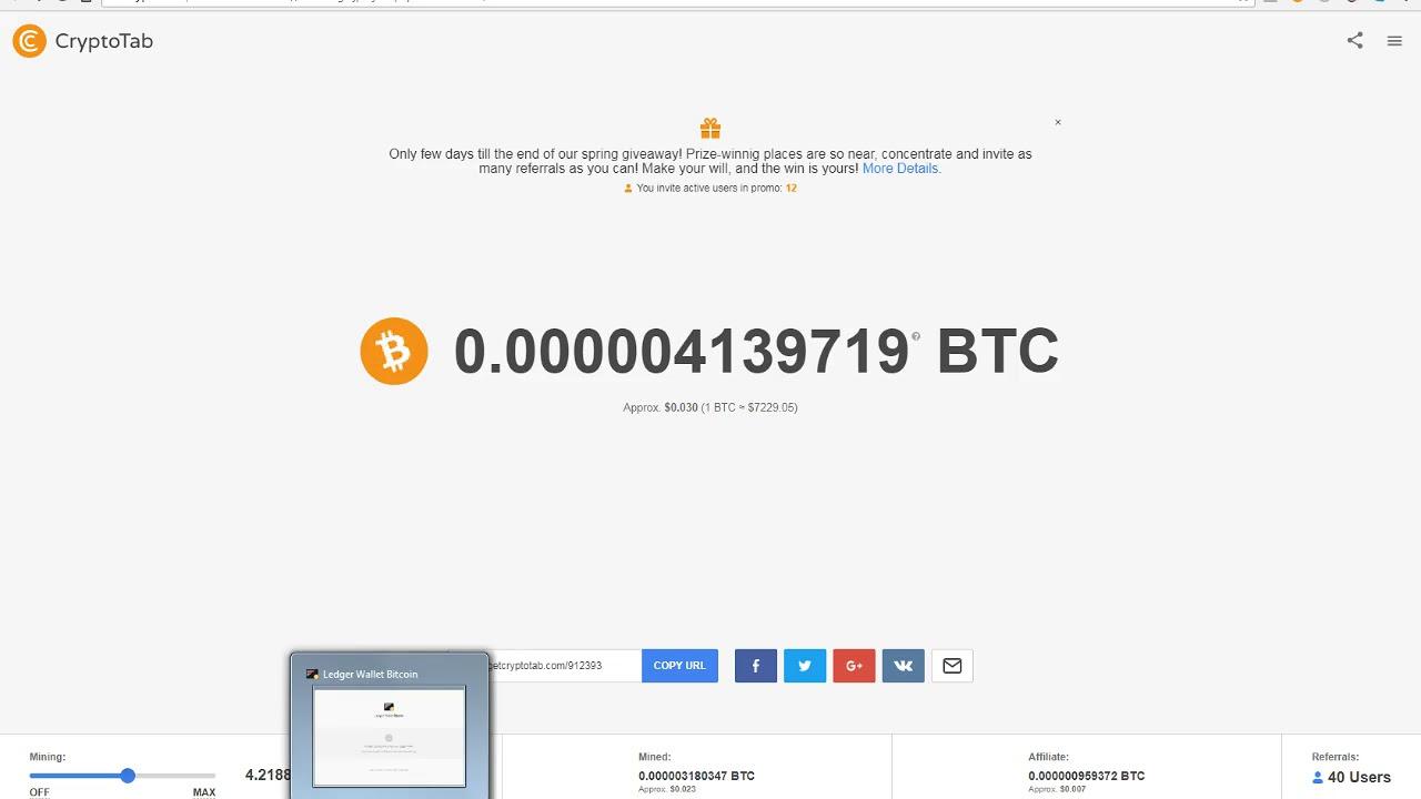 Ingyenes bitcoin oldal