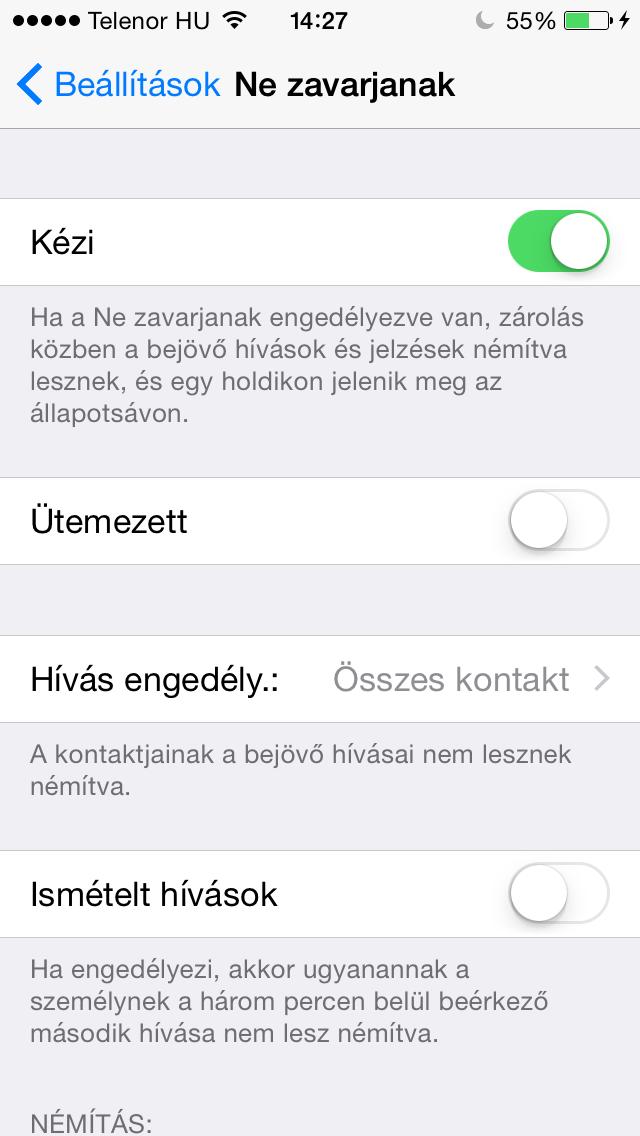 Gyakori kérdések: adott kontakt letiltása hívások és üzenetek esetén