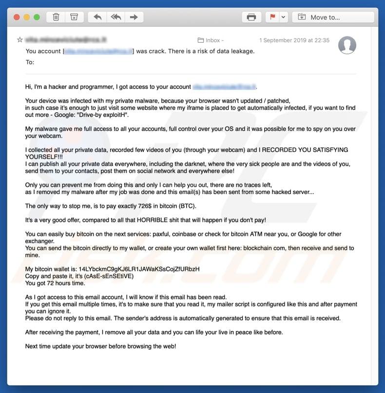 bitcoin mail)