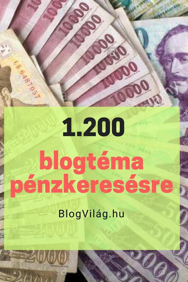 sok pénzt keresni befektetéssel)