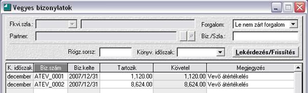 vevő nyeresége)
