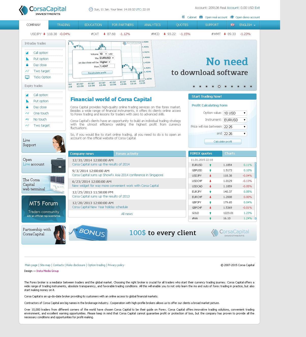 a corsa capital áttekinti a bináris opciókat)