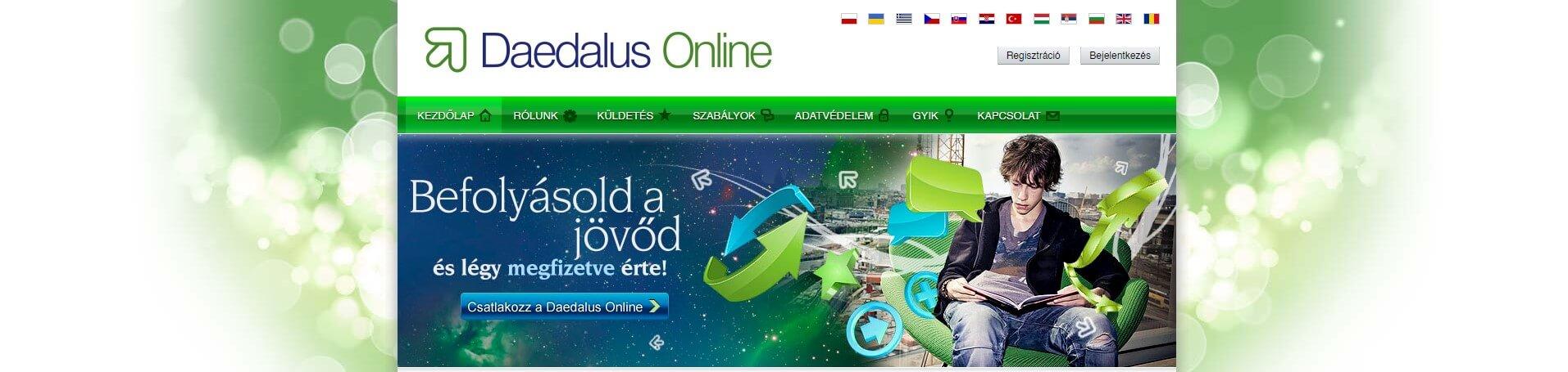 online kereseti oldal