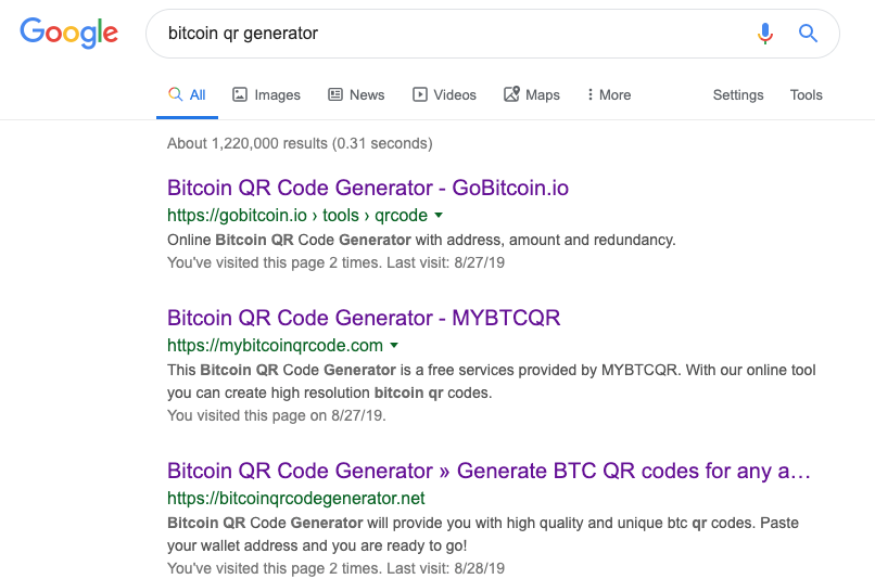bitcoin kód)