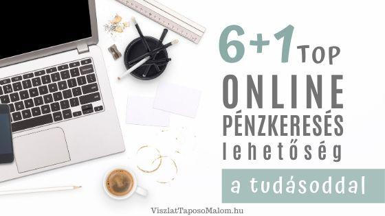 képzés az interneten történő pénzkeresésről)