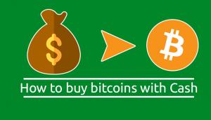 bitcoin készpénzért)
