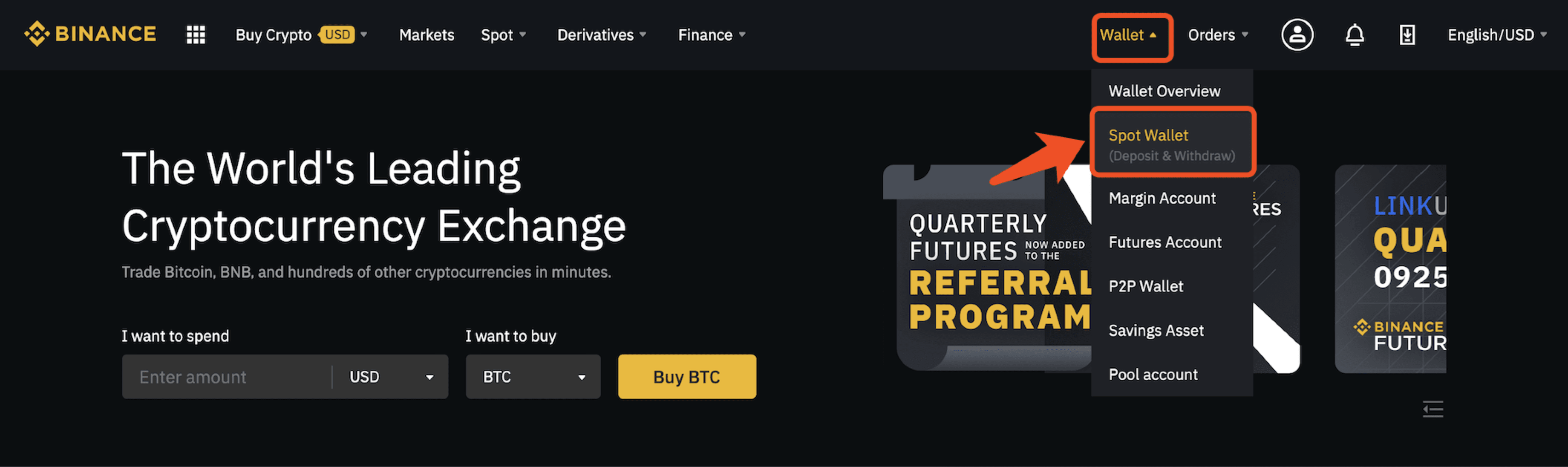 bitcoin rate binance)