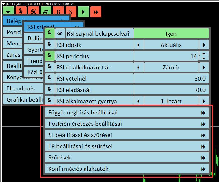Az indikátor macd hisztogramjának leírása. MACD indikátor