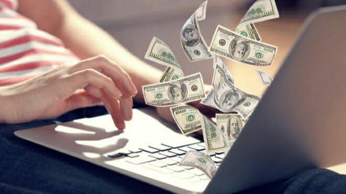 dolláros kereset az interneten