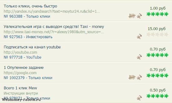 minden olyan webhely, ahol gyorsan pénzt kereshet