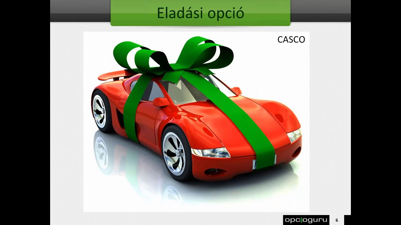 eladási opciós technológia)