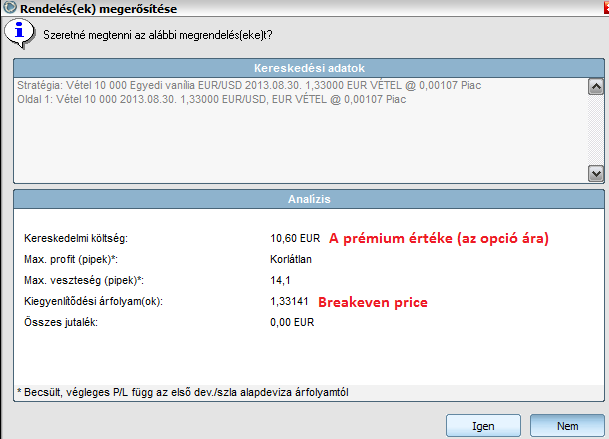prémium eladási opció hogyan lehet megtenni a bináris opciót