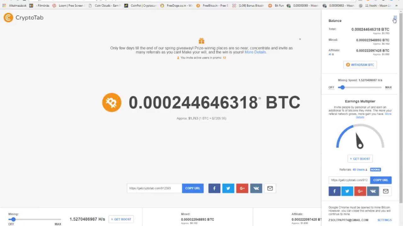 ingyenes bitcoin vélemények