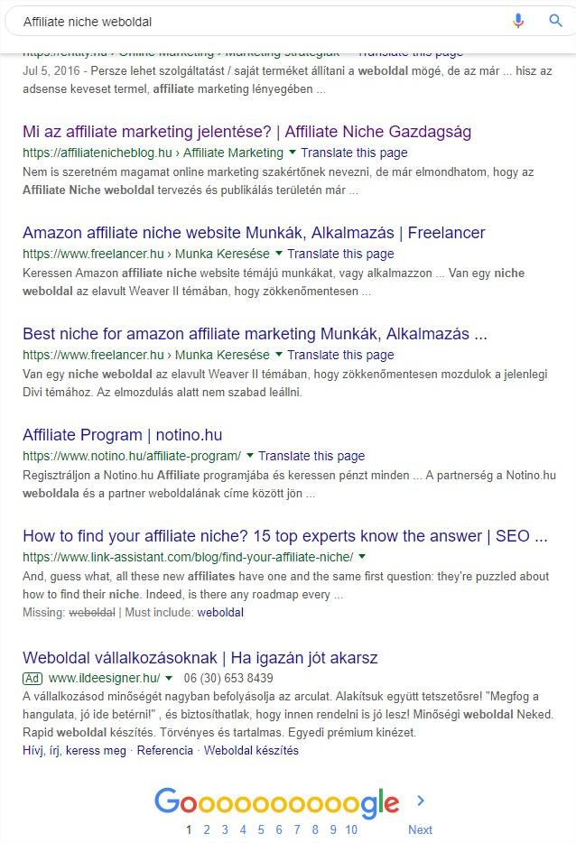 pénzt keresni weboldal fejlesztés