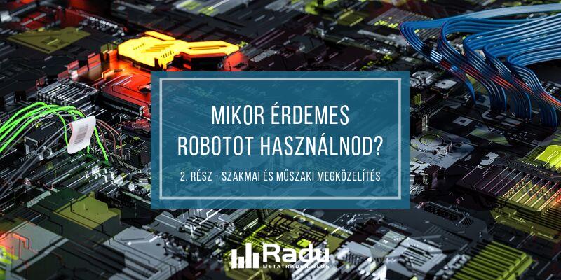 robotok nélküli kereskedés