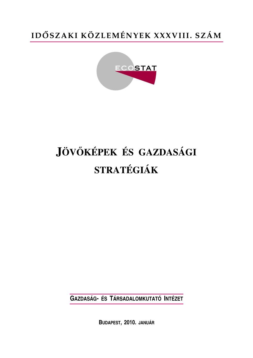 stratégiák alapjai a kereskedelemben)