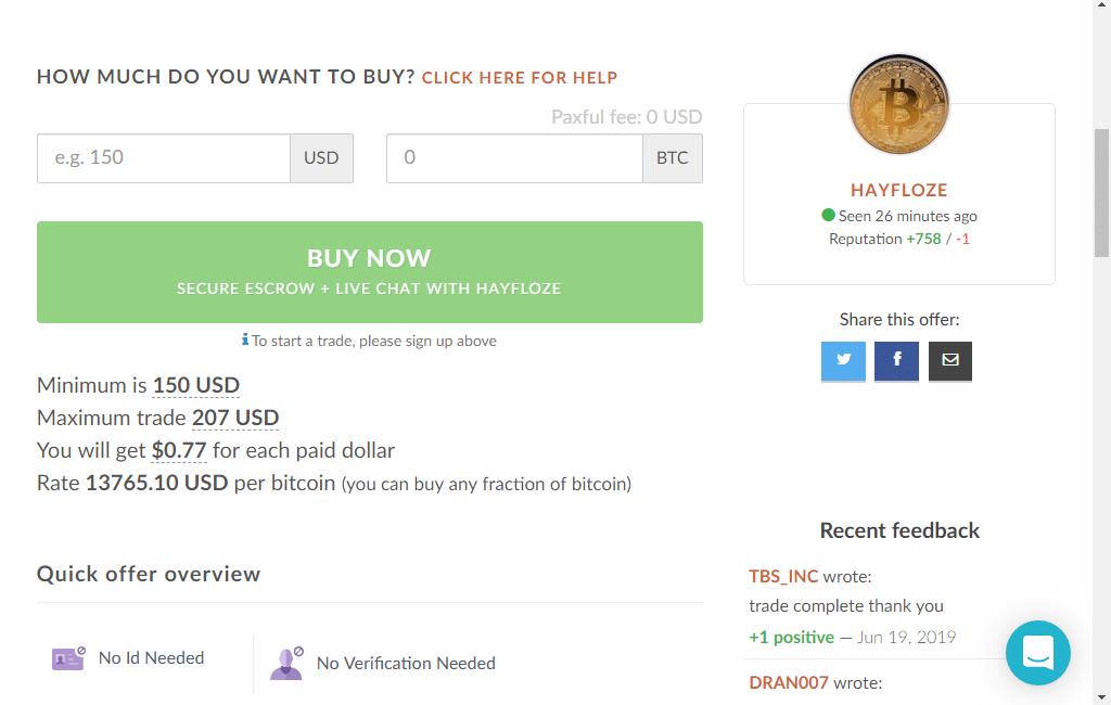 vásároljon bitcoint paypal-szal