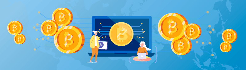 hogyan lehet a bitcoinokat bitcoin címen keresztül visszavonni internetes jövedelem 2020-ban