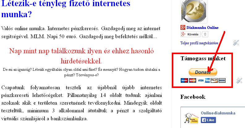 online kereset leírása)
