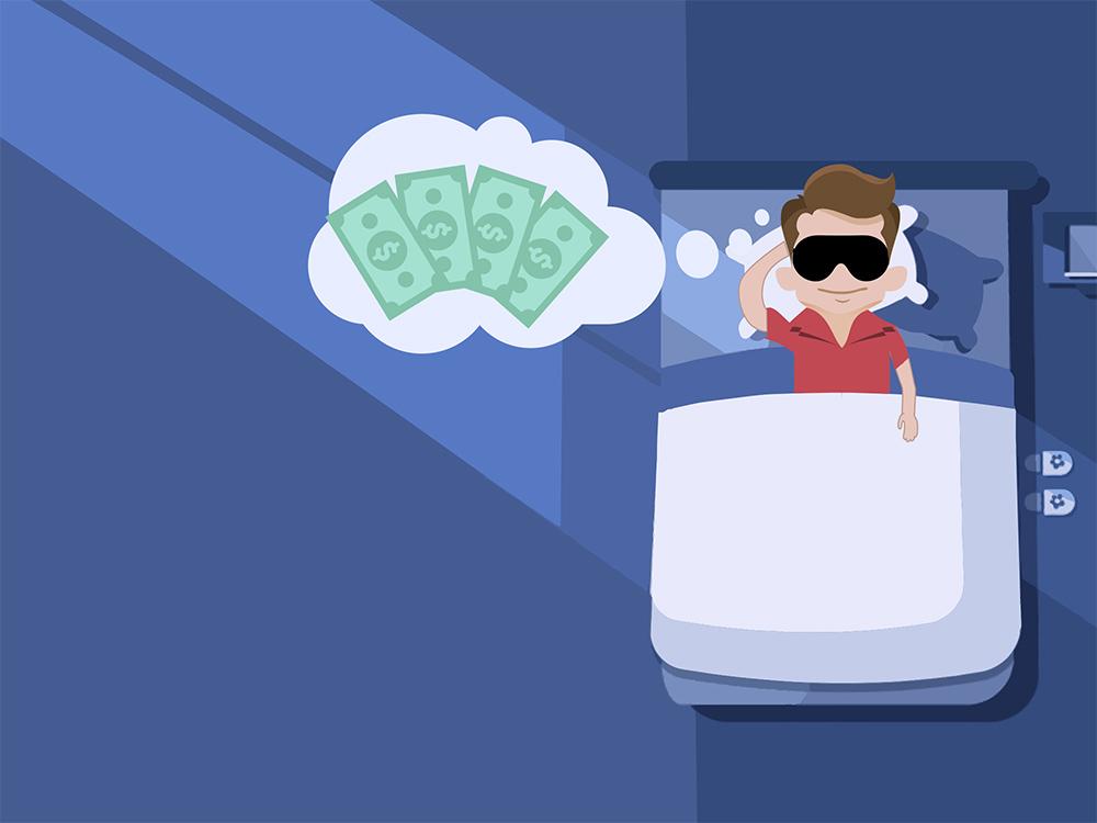 pénzt keresni könnyű)